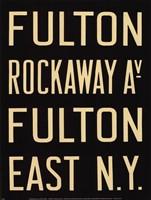 Fulton/Rockaway Fine Art Print