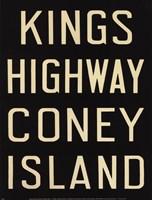 Kings Hwy/Coney Island Framed Print