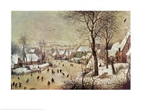 Winter Scene Fine Art Print