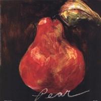 Red Pear Fine Art Print