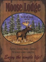 Moose Lodge Fine Art Print