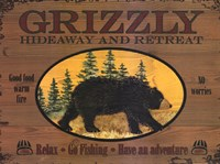 Grizzly Framed Print