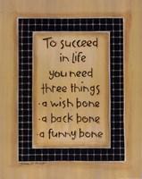 """To Three Things by Karen Tribett - 11"""" x 14"""""""