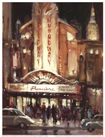 Broadway Premiere Fine Art Print
