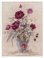 Crimson Roses l Fine Art Print