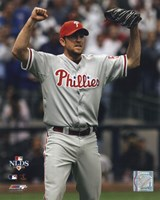 "Brad Lidge 2008 NLDS Game 4 Celebration - 8"" x 10"""