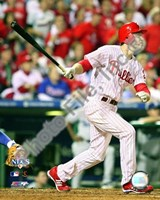 """Chase Utley 2008 NLCS Game 1 Home Run - 8"""" x 10"""", FulcrumGallery.com brand"""