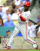 """Jimmy Rollins 2008 Game 5 NLCS Home Run - 8"""" x 10"""""""