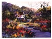 Sun Dappled Vista Fine Art Print