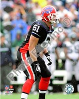 Paul Posluszny 2008 Action Fine Art Print