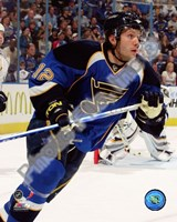 Lee Stempniak 2008-09 Action Fine Art Print