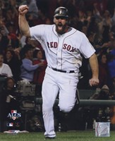 """Kevin Youkilis Game 5 of the 2008 ALCS - 8"""" x 10"""", FulcrumGallery.com brand"""
