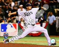 "Matt Garza Game 7 of the 2008 ALCS - 10"" x 8"", FulcrumGallery.com brand"