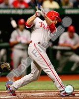 """Chase Utley Game one of the 2008 MLB World Series Home Run - 8"""" x 10"""", FulcrumGallery.com brand"""