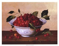Still Life With Cherries Fine Art Print
