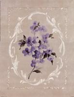 Framed Lilac I Fine Art Print