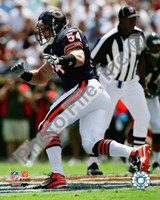 Brian Urlacher 2008 Action Fine Art Print
