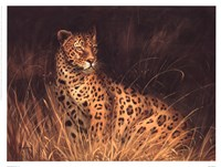 Spotted African Cat Fine Art Print