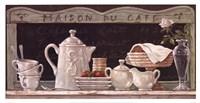 Maison Du Cafe Fine Art Print
