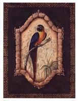 "Tropical Bird I by Dona Gelsinger - 13"" x 17"""