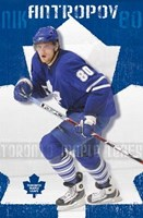 Maple Leafs - Nik Antropov 08 Wall Poster