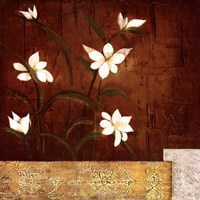 "Orchid Melody II by Teo Vineli - 28"" x 28"" - $25.99"