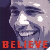 "Barack Obama:  Believe - 12"" x 12"""