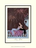 "Le Feu by Georges Barbier - 10"" x 13"""