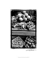 Farmer's Market II Framed Print