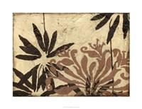 Tawny Floral I Fine Art Print