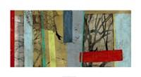 Woven Landscape II Framed Print