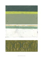 Precipice II Framed Print