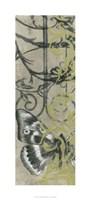 "Iron Butterfly II by Jennifer Goldberger - 18"" x 40"", FulcrumGallery.com brand"