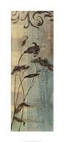 "Wildflower Resonance III by Jennifer Goldberger - 18"" x 40"""