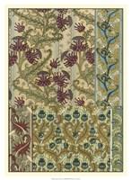 """Garden Tapestry IV by Eugene Grasset - 16"""" x 22"""""""