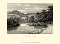 View of Beaumont Lodge Fine Art Print