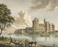 Caernarvon Castle Framed Print