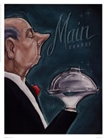 Main Course Fine Art Print