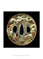 "Asian Medallion I by Vision Studio - 10"" x 13"""
