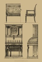 "French Empire Furniture I by Vision Studio - 13"" x 19"" - $12.99"