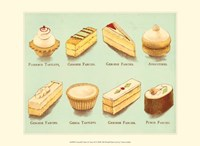"""Fanciful Cakes & Tarts II by Vision Studio - 13"""" x 10"""" - $10.49"""