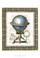 Traditional Globe II Framed Print