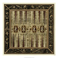 """Antique Gameboard II by Vision Studio - 22"""" x 22"""""""