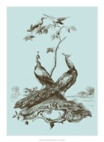 "Avian Toile II by Vision Studio - 16"" x 22"""