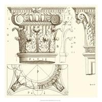 "Corinthian Detail III by Vision Studio - 22"" x 22"""