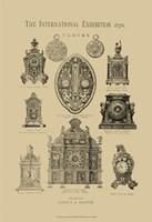 International Clocks Fine Art Print