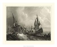 Ships at Sea II Fine Art Print