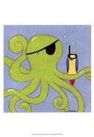 "13"" x 19"" Octopus"