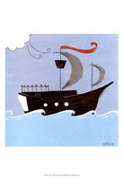 """Avast! by June Erica Vess - 13"""" x 19"""" - $12.99"""