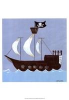 "Ahoy! by June Erica Vess - 13"" x 19"""